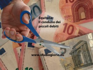 agenzia della riscossione condono dei piccoli debiti