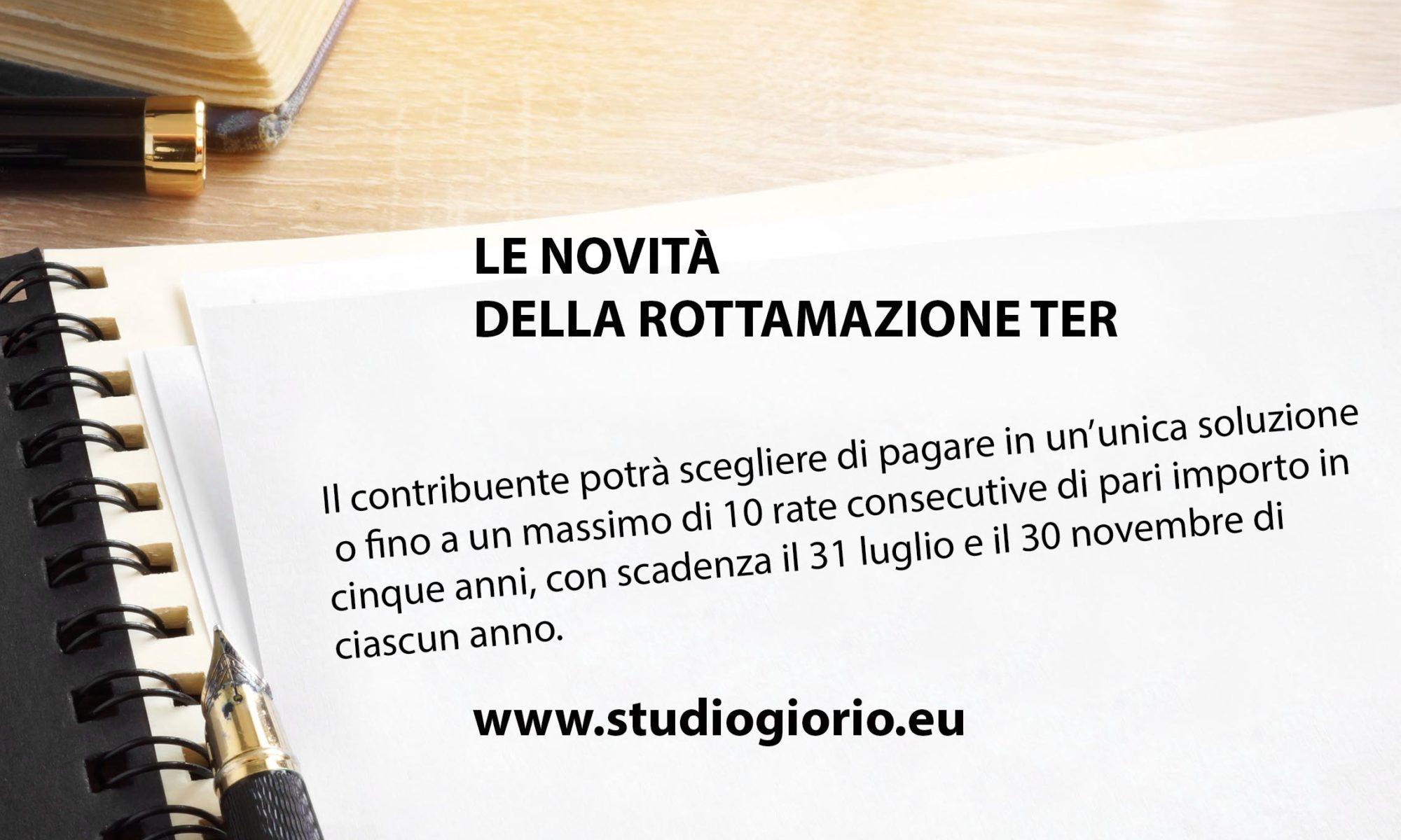 Rottamazione ter news - Studio Giorio