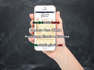 Decreto Cura Italia - 730 a distanza